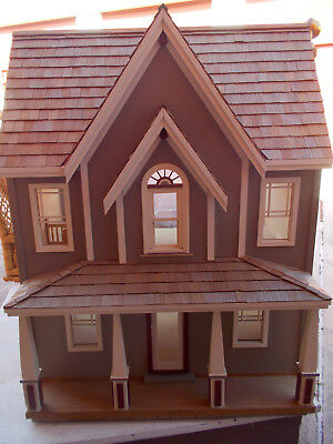 Painting Cottage Ann Hathaway dollhouse miniature 1//12 scale 9165GP