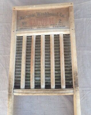 Antique Hand CLOTHES WASHING BOARD