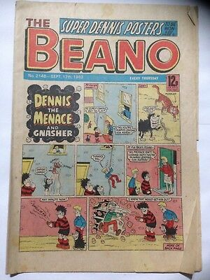 DC Thompson THE BEANO Comic. Issue 2148. September 17th 1983 **Free UK Postage**