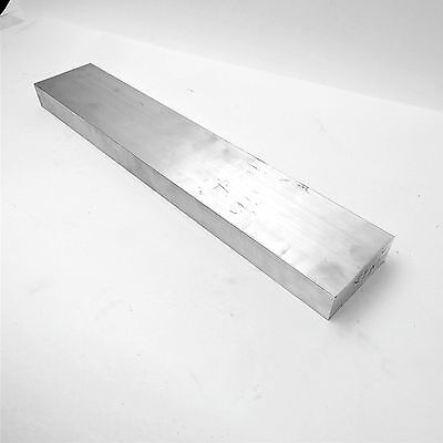"1.5"" x 5"" Aluminum Solid 6061 FLAT BAR 19"" Long new mill stock sku A306"