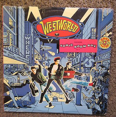 "Westworld ""rockulator"" 1988 Rca-Still Sealed-Oop W/""sonic Boom Boy"" Rare Lp!"