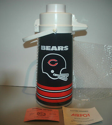 Vintage Chicago Bears HOT/COLD Thermos Dispenser