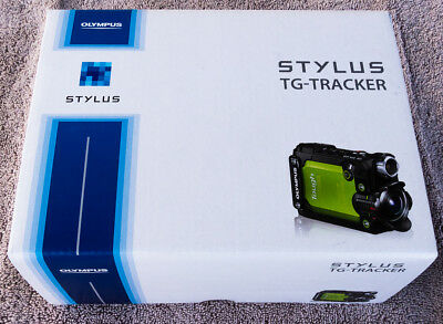 Olympus Stylus Tough TG-Tracker Action Camera (Green), water & shock resistant
