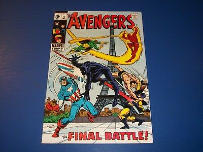Avengers #71 Silver Age 1st Invaders Nice Looking