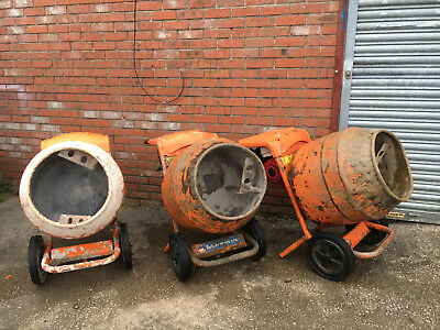 Belle mixer Honda Petrol 4HP GX120 Engine New or Old Drum Cement Concrete