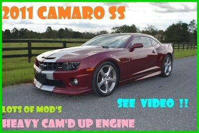 2011 Chevrolet Camaro 2SS 2011 2SS Used 6.2L V8 16V Automatic RWD Coupe OnStar Premium