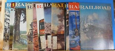 Railroad Magazine Complete Year 1977 12 issues