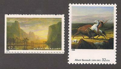 THE LAST OF THE BUFFALO BY ALBERT BIERSTADT ** US POSTAGE STAMP MINT