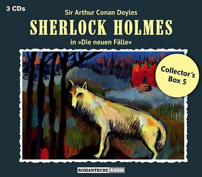 Sherlock Holmes  - Die New+En Fälle: Collector's Box 5 (3Cd) -  3 Cd New+