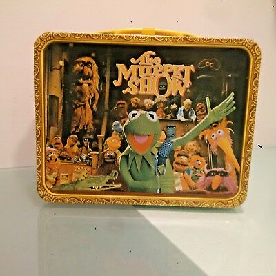 NICE CONDITION 1978 The Muppet Show Lunchbox and Thermos