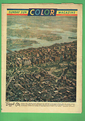 #T80.  Sunday Sun Supplement - 23 November 1947, Sydney