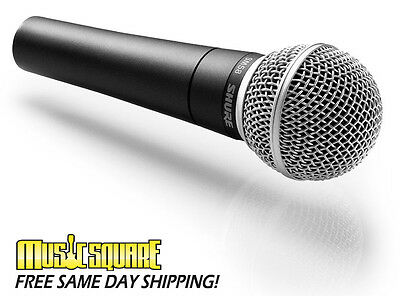 Shure SM58 Cardioid Handheld Dynamic Microphone -Authorized Dealer +Speedy Ship!