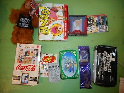 Huge Collectible Lot of w/ Unopened Packs, Non Sports, Alf, Casper, Nice! X66