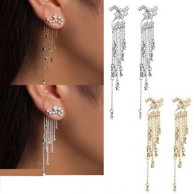 New Fashion Star Tassel Earrings Simple Geometric Earrings Fashion Jewelry Gifts