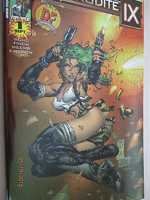 2000 Image/top Cow Comics Aphrodite Ix #1 Dynamic Forces Chrome Edition Cover