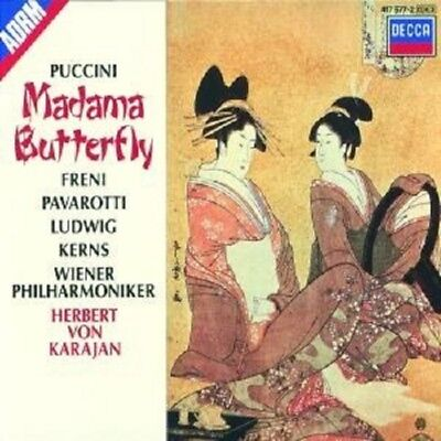 "Luciano Pavarotti ""Madame Butterfly (Ga)"" 3 Cd Box New+"