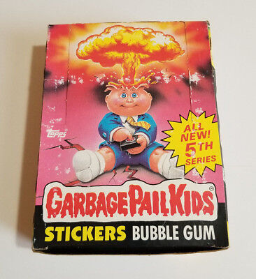 1986 Garbage Pail Kids 5th Series (OS 5) Unopened Box with 48 packs!