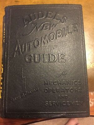 Audels New Automobile Guide' 1938-1949 -  Mechanics guide - GREAT COLLECTIBLE !