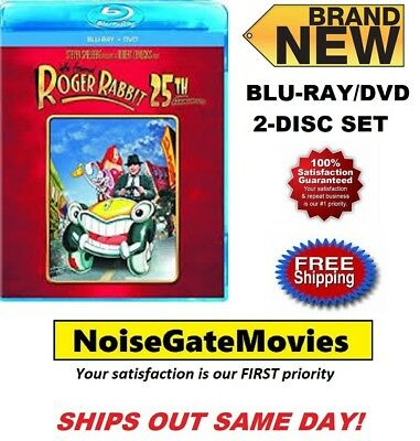 New - Who Framed Roger Rabbit (Blu-ray/DVD 2-Disc Set, 25th Anniversary Edition)