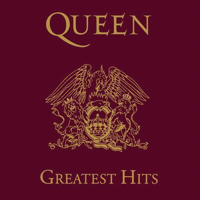 New: QUEEN - Greatest Hits CD (Freddie Mercury/Brian May/Roger Taylor)