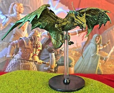 Bronze Dragon D&D Miniature Dungeons Dragons pathfinder tyranny 24 adult large Z