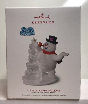 2018 Hallmark Keepsake Frosty The Snowman A Jolly Happy Holiday Ornament