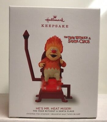 2018 Hallmark Keepsake A Year Without A Santa Claus He's Mr. Heat Miser Ornament