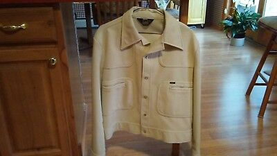 Mens Vintage leisure suit jacket from the 70's made by Lee size Large