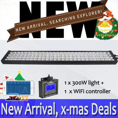 NEW DSunY 75CM WiFi LED Aquarium Light Dimmable Full Spectrum Coral Reef SPS/LPS