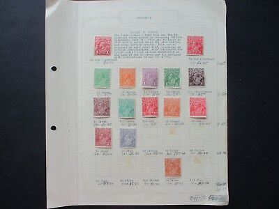 ESTATE: Australia Pre Decimal Collection on Pages - Must Have!! FREE POST (23)
