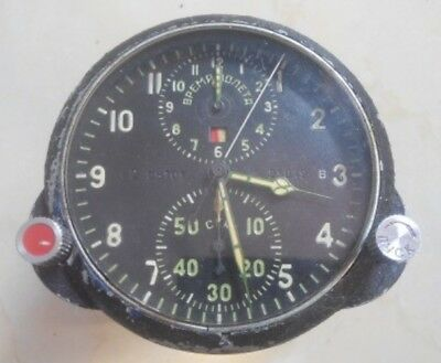 Antique Russian Aircraft Flight Instrument Clock cockpit bell & ross vostok wwii