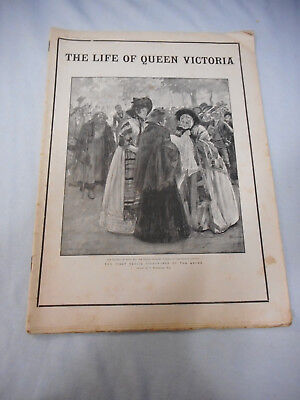 #t117.   The Graphic Newspaper - 26 January 1901, The Life Of Queen Victoria