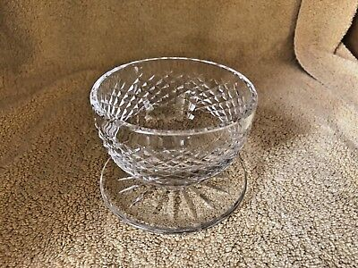 Waterford Crystal * VINTAGE * ALANA FOOTED DESSERT BOWLS * ADD'L AVAILABLE