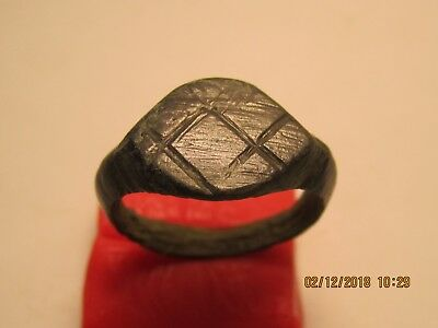 Ancient Celtic ring with Rune Inguz.