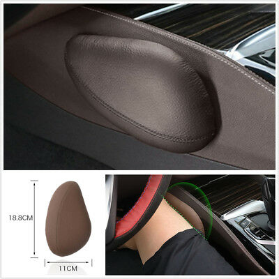 1x Car Driver Legs Cushion Anti-Rolling Vehicle-Mounted Pillow Left Legs Support