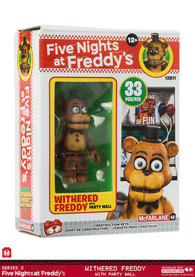 McFARLANE FIVE NIGHTS AT FREDDY`S - THE PARTY WALL - CONSTRUCTION SET