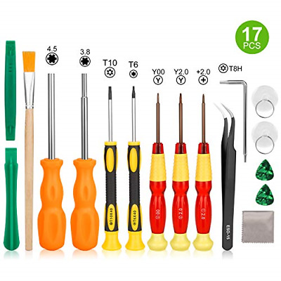 Triwing Screwdriver for Nintendo Switch - Younik 17in1 Professional Full Triwing