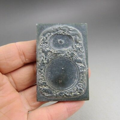 China, jade,Noble collection,Literary collections,jade,dragon,inkstone Z005