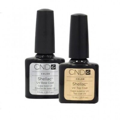 CND Shellac Top & Base Coat 2 x 7,3ml Original 100%