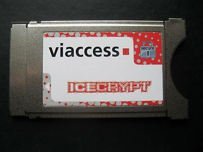 VIACCESS CI CAM Icecrypt by Neotion (SECURE Dual Decrypt) NEU/NEW/NUOVO