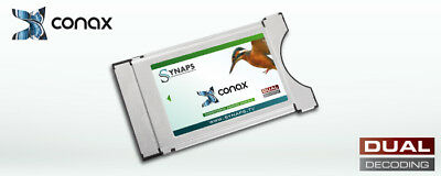 CONAX CI CAM Synaps by Neotion (SECURE Dual Decrypt) NEU/NEW/NUOVO u.a. LIWEST