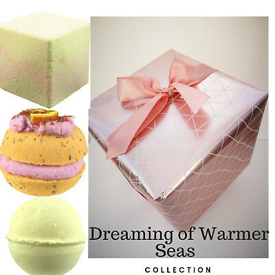 Bath Bombs Luxury Wrapped Soap Set Handmade Natural Shower Aromatherapy Gift