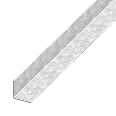 GALVANISED STEEL UNEQUAL SIDED 90 DEGREE ANGLE Corner Protector Angle