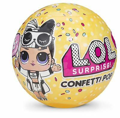 1 Ball LOL Surprise! Doll Confetti Pop Series 3 wave 2 Big Sisters Yellow