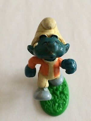 VINTAGE SMURF EXERCISE WALKING shipping is for up to 10 smurfs
