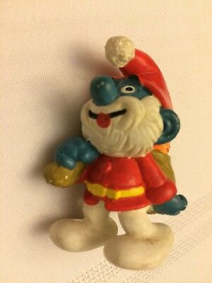 VINTAGE SMURF SANTA PAPA shipping is for up to 10 smurfs