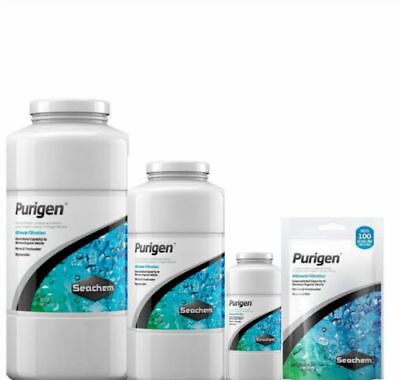 Seachem Purigen Filter Media Organic Waste Remover 100ml 250ml 500ml 1L