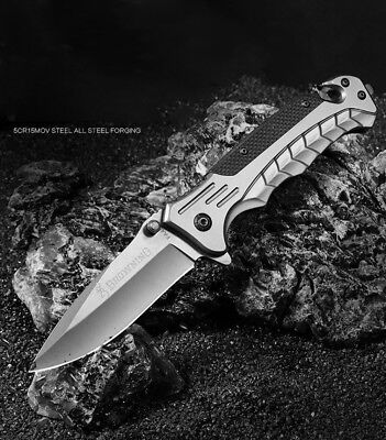 Tactical Folding Knife Spring Assisted knives Survival Camping Outdoor Hunting