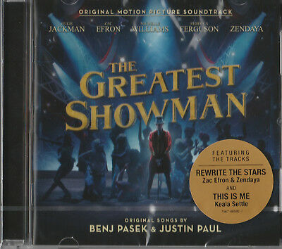 New & Sealed - The Greatest Showman Cd - Original Motion Picture Soundtrack