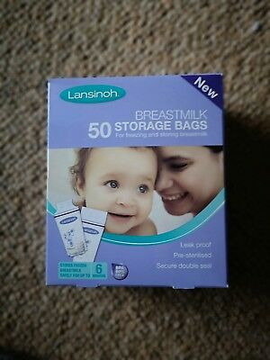Lansinoh Breastmilk Storage Bags (39 Pieces)